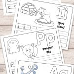 Free Printable Alphabet Book   Alphabet Worksheets For Pre K And K   Free Printable Alphabet Worksheets