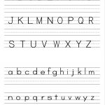 Free Printable Alphabet Worksheets, Preschool Writing And Pattern   Free Printable Alphabet Worksheets