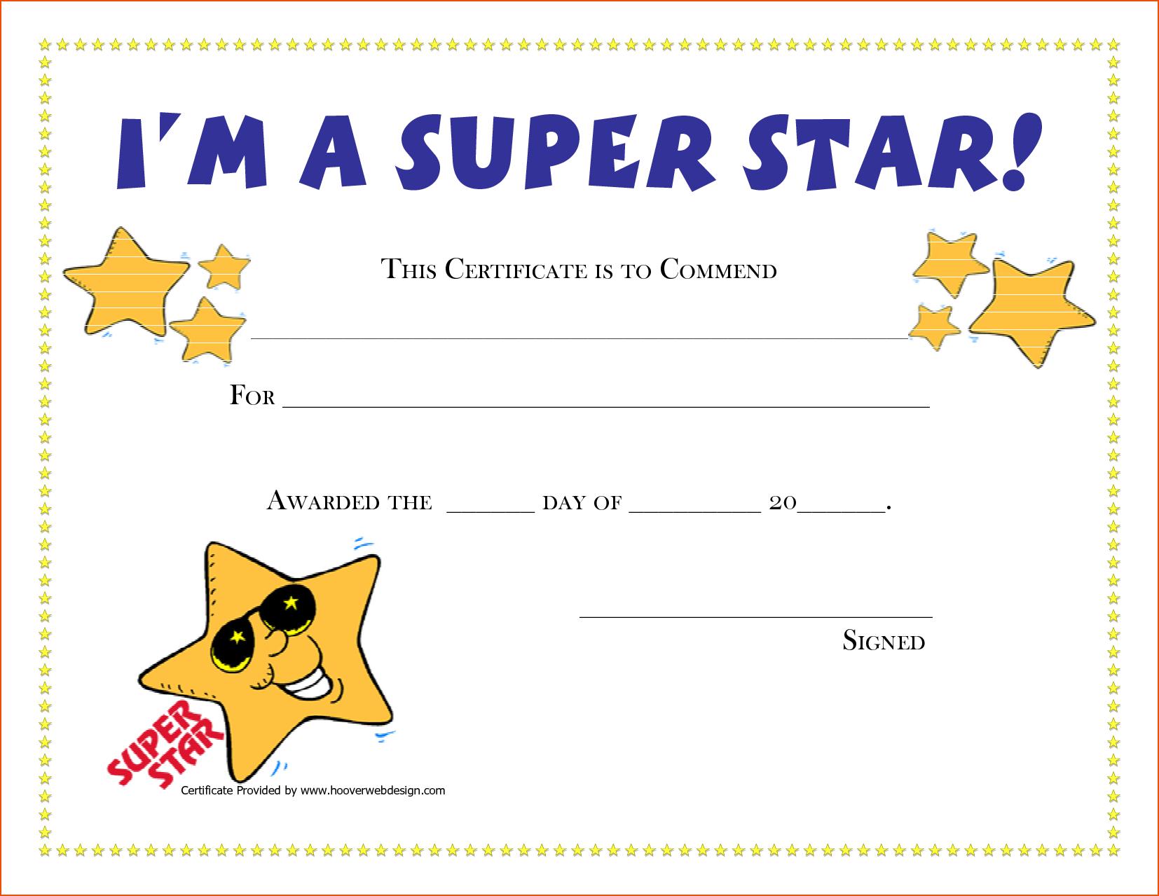 Free Printable Award Certificates | New Calendar Template Site | G - Free Printable Awards