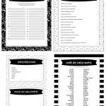 Free Printable Baby Shower Games   5 Games (In 3 Colors!) | Lil' Luna   Free Baby Shower Printables