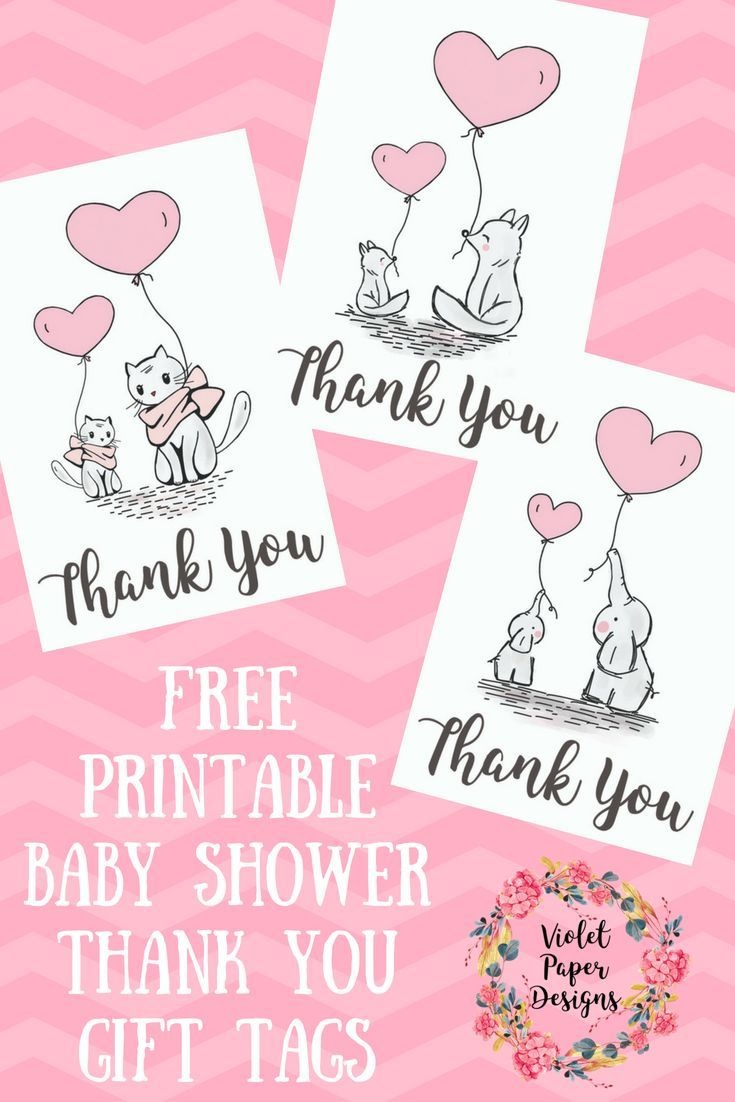 Free Printable Baby Shower Thank You Gift Tags   Planners - Free Printable Baby Shower Gift Tags