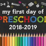Free Printable Back To School Chalkboard Signs /// 2018 2019   The   Free Printable First Day Of School Signs 2018
