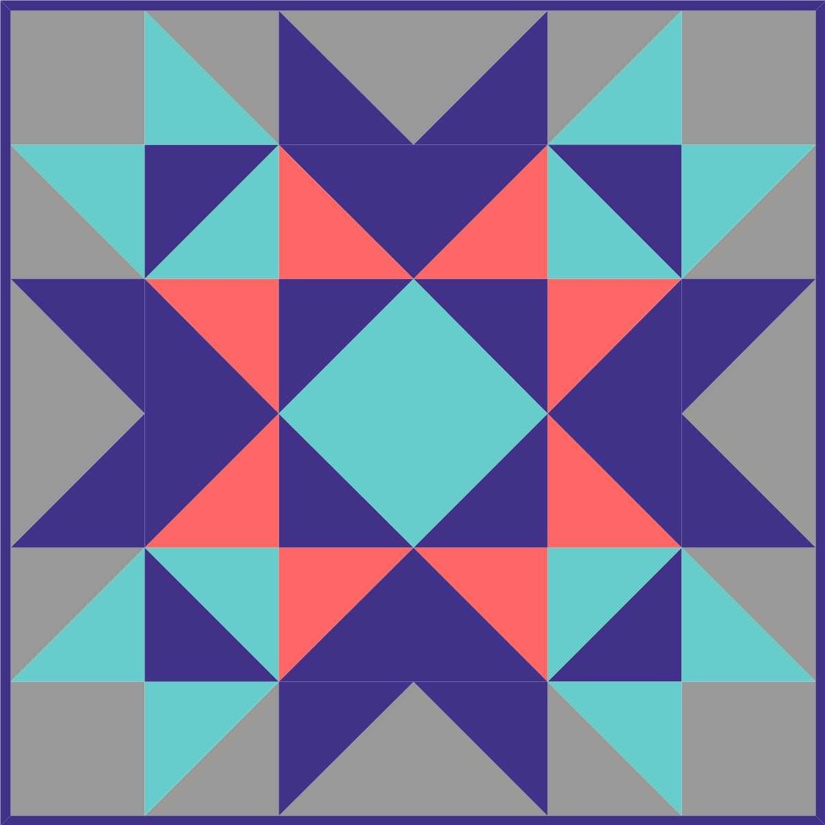 Free Printable Barn Quilt Patterns 4 - Voaac.co.uk - Free Printable Barn Quilt Patterns