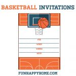 Free Printable Basketball Themed Party Invitations | Best Of   Free Printable Basketball Cards