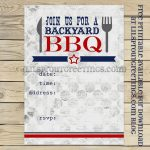 Free Printable Bbq Cookout Invitation | Free Printables | Bbq Party   Free Printable Cookout Invitations