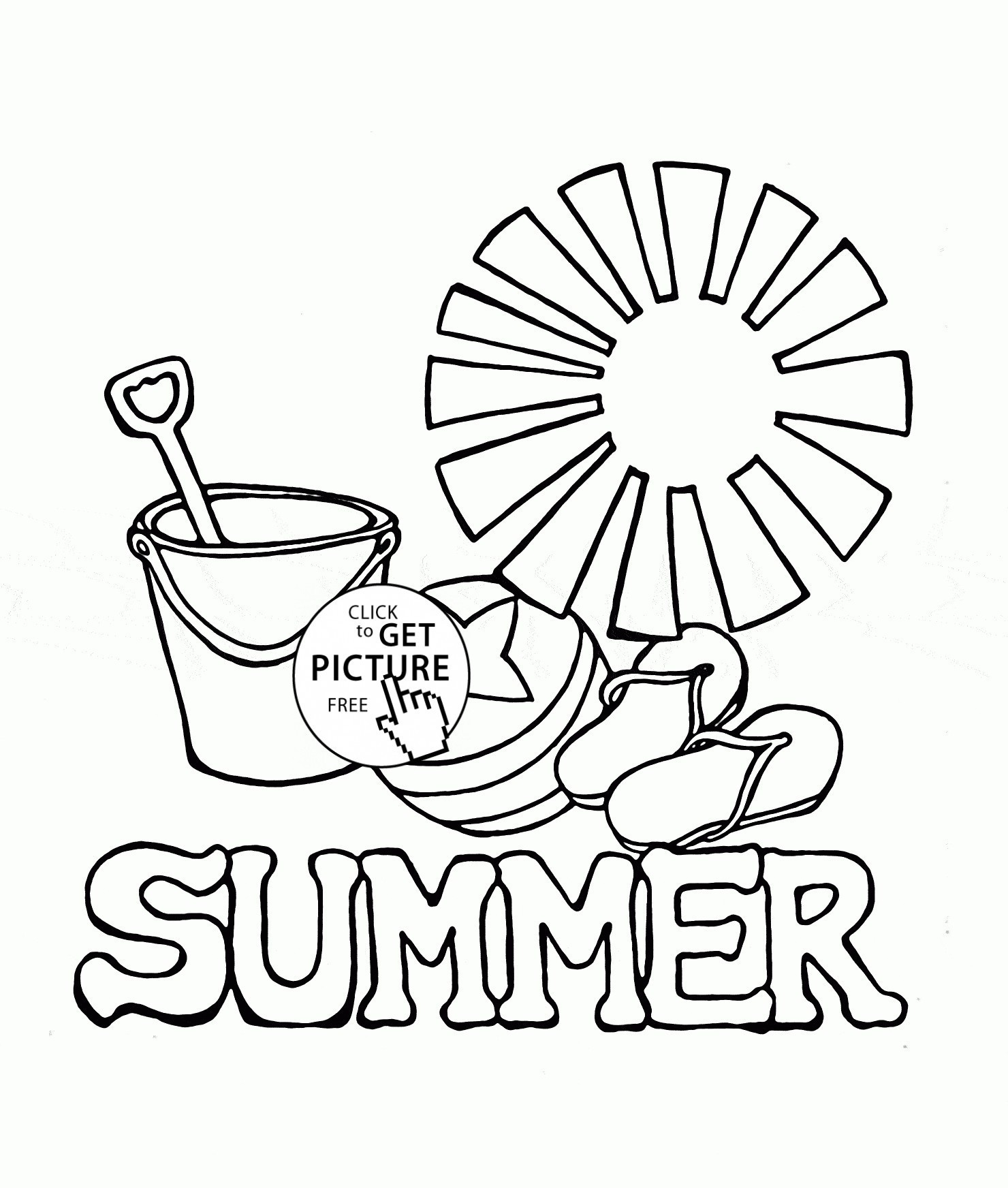 Free Printable Beach Coloring Sheets Save Summer Coloring Pages - Summer Coloring Sheets Free Printable