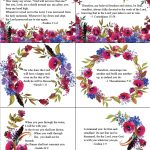 Free Printable Bible Verse Cards For When You Need Encouragement   Free Printable Bible Verse Cards