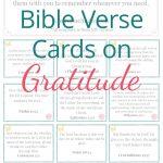 Free Printable Bible Verse Cards On Gratitude   Laura Sue Shaw   Free Printable Bible Verse Cards