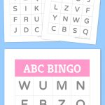 Free Printable Bingo Cards   Homeschool Ideas   Alphabet Bingo   Free Printable Spanish Bingo Cards
