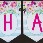Free Printable Birthday Banner   Six Clever Sisters   Free Happy Birthday Banner Printable Pdf