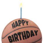 Free Printable Birthday Card   Basketball | Greetings Island   Free Printable Basketball Cards