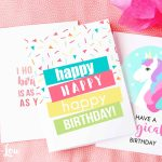 Free Printable Birthday Cards | Skip To My Lou   Free Printable Birthday Cards For Your Best Friend