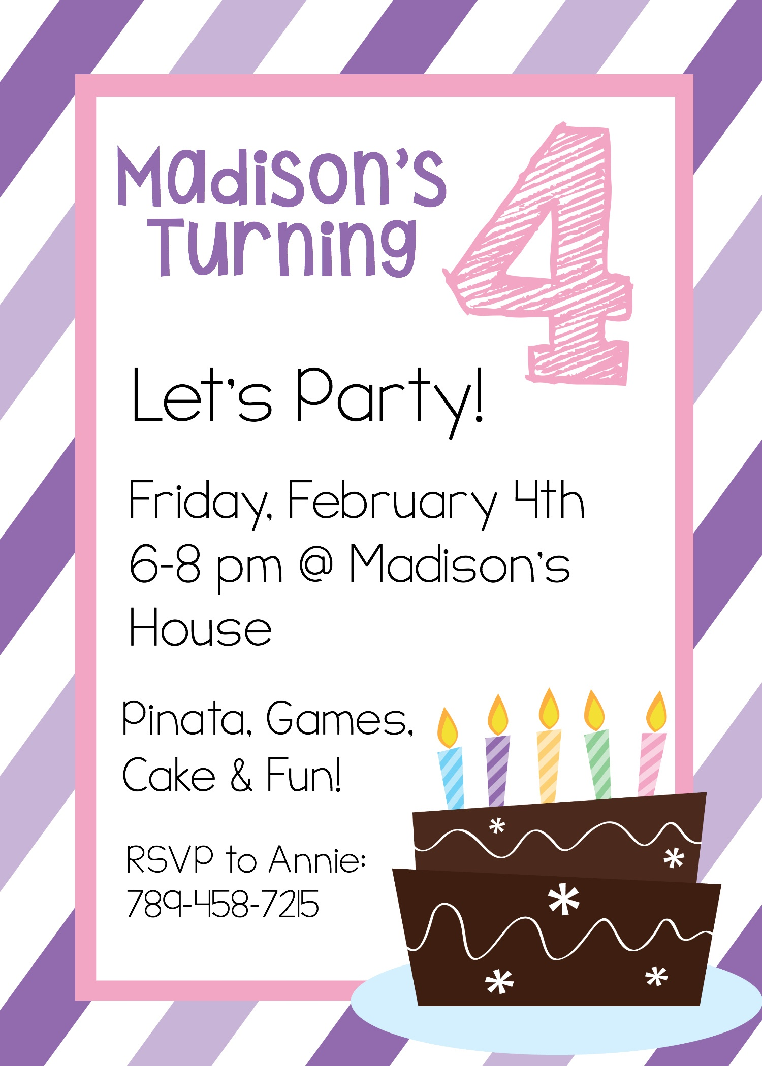 Free Printable Birthday Invitation Templates - Free Printable Invitations Templates
