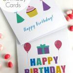 Free Printable Blank Birthday Cards | Catch My Party   Free Printable Birthday Cards For Adults