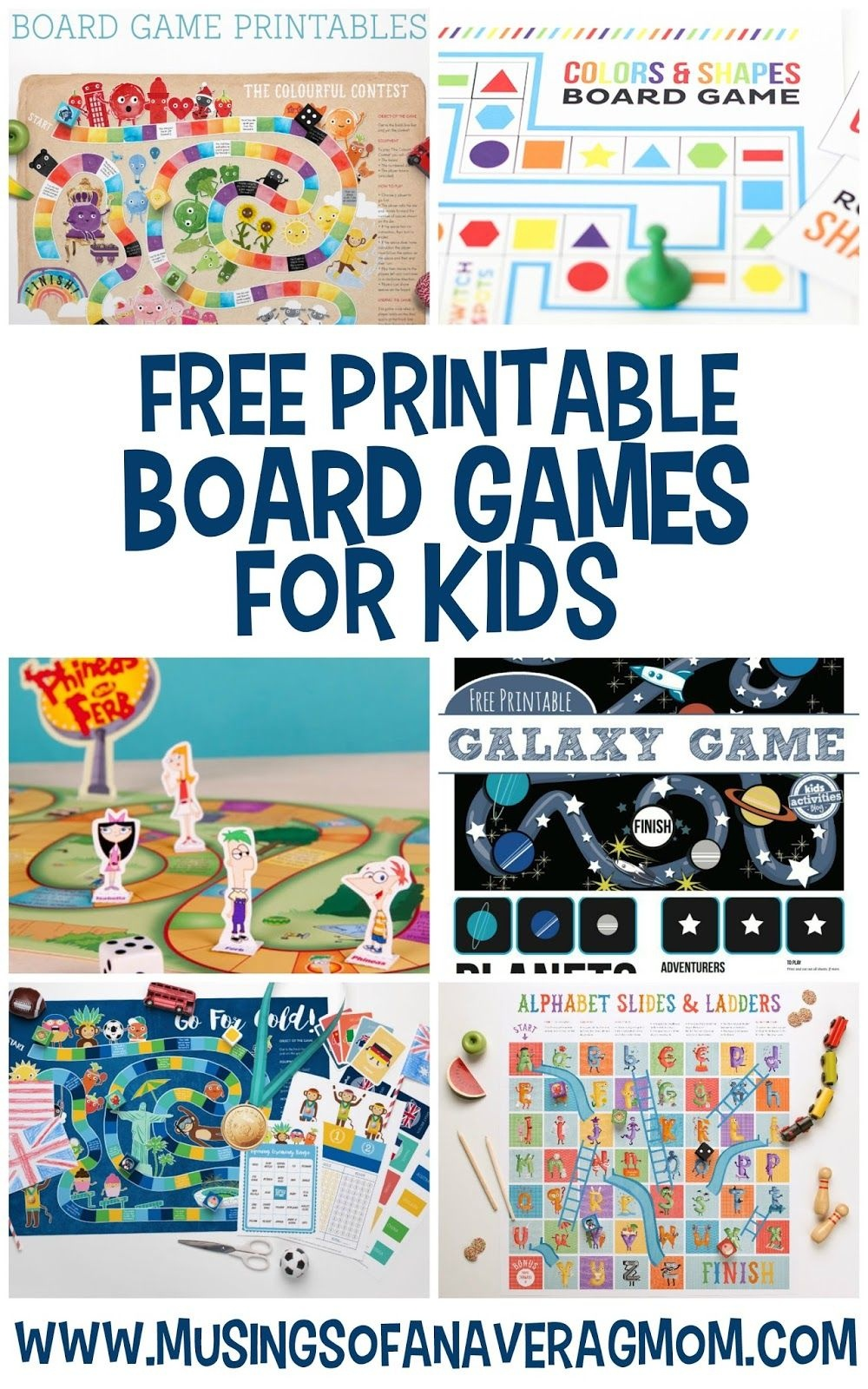 Free Printable Board Games | Printables For Kids | Printable Board - Free Printable Games For Toddlers