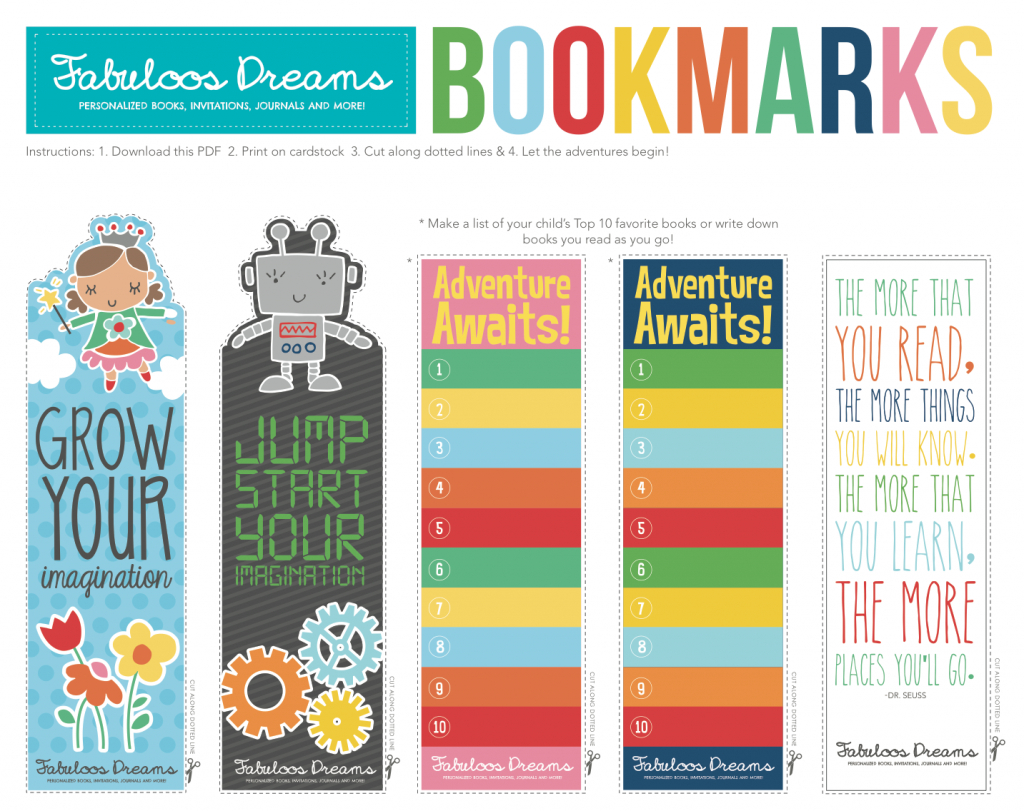 Free Printable Bookmarks For Kids - Printables 4 Mom - Free Printable Baby Bookmarks