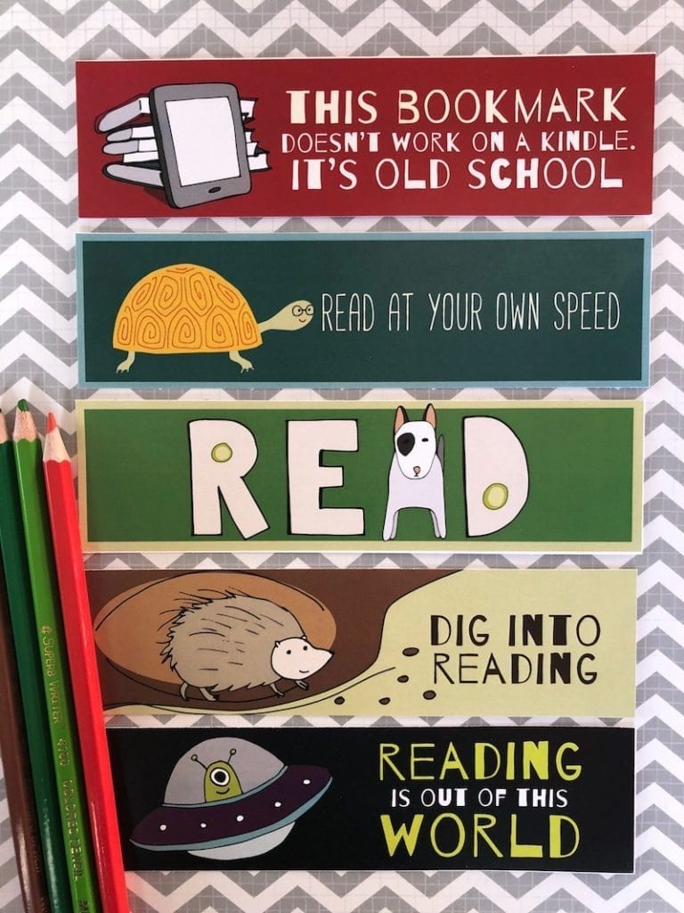 Free Printable Bookmarks For Kids - Weareteachers - Free Printable Back To School Bookmarks