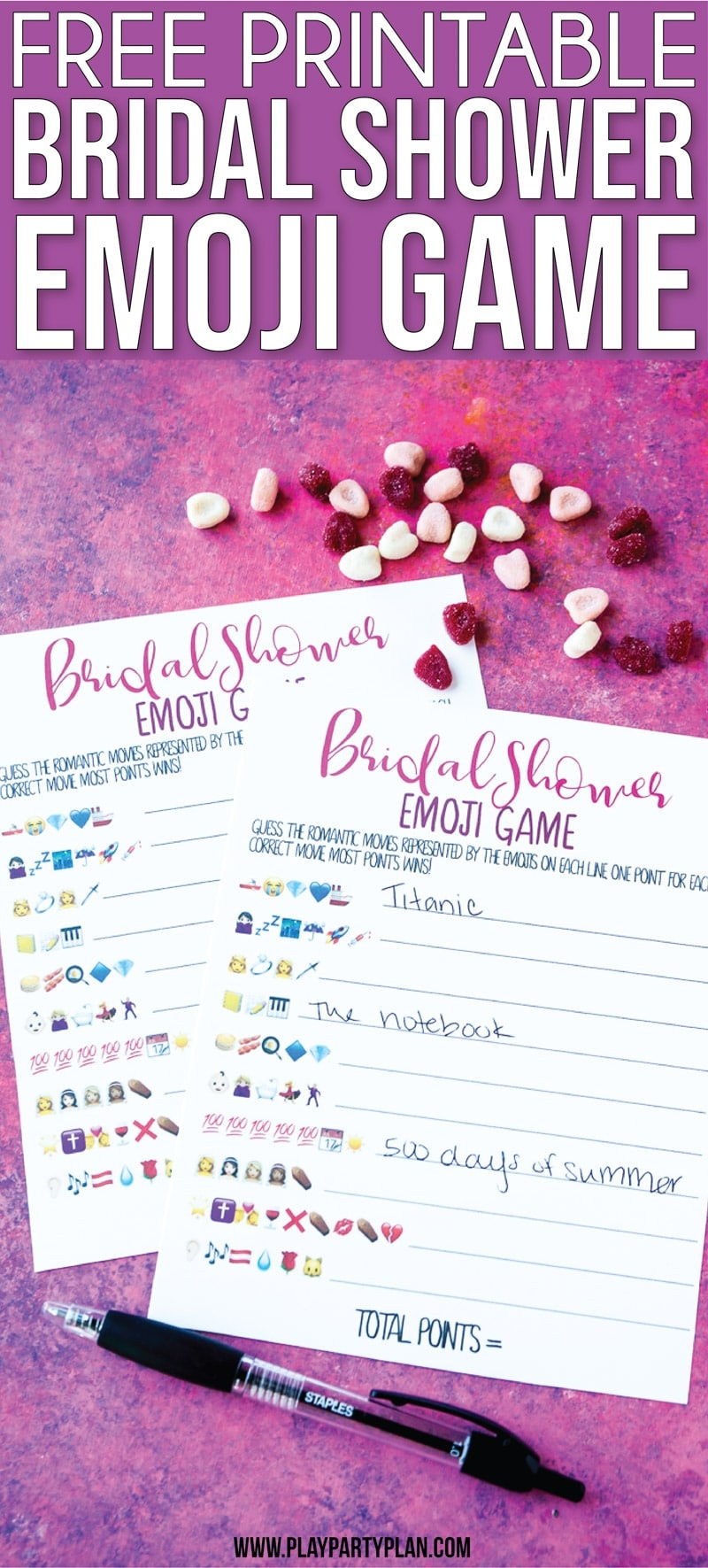 Free Printable Bridal Shower Name The Emoji Game - Emoji Bridal Shower Game Free Printable