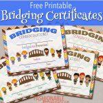 Free Printable Bridging Certificates | Girl Scouts | Girl Scout   Free Bridging Certificate Printable