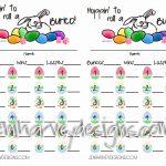 Free Printable Bunco Cards | Bunco! | Bunco Score Sheets, Bunco   Printable Bunco Score Cards Free