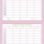 Free Printable Bunco Score Sheets Only | Feel Free To Print It Out   Free Printable Bunco Score Sheets