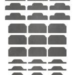Free Printable Chalkboard Divider Tabs For Binders And Organizers   Free Printable Tabs For Binders