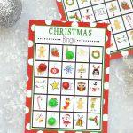 Free Printable Christmas Bingo Game – Fun Squared   20 Free Printable Christmas Bingo Cards