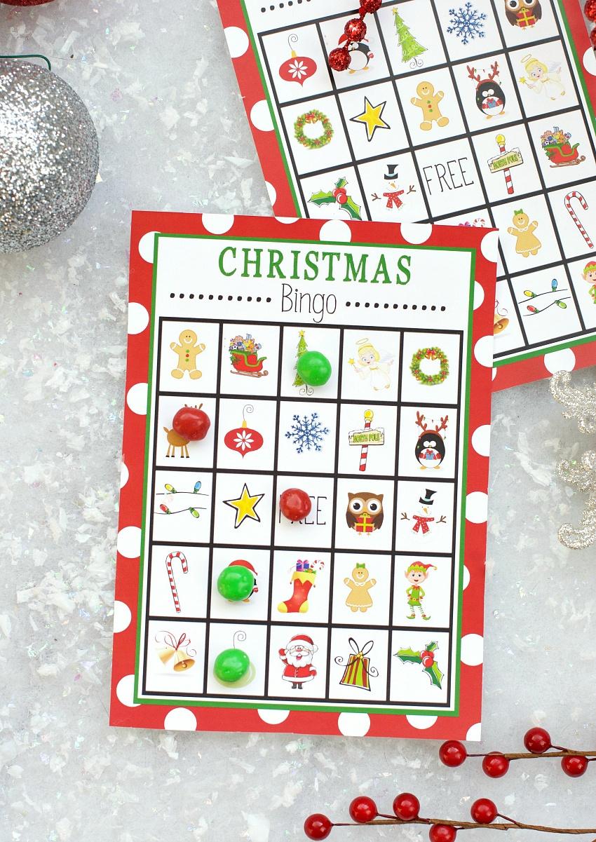 Free Printable Christmas Bingo Game – Fun-Squared - 20 Free Printable Christmas Bingo Cards