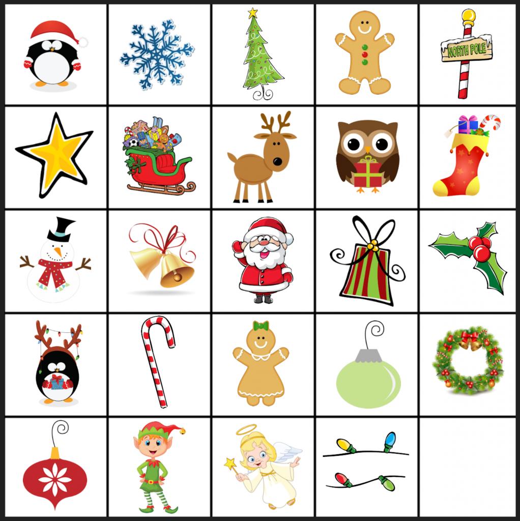 Free Printable Christmas Games: Christmas Matching Game In Christmas - Free Printable Matching Cards