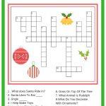 Free Printable Christmas Games   Making Of A Mom   Free Printable Christmas Games