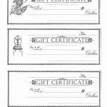 Free Printable Christmas Gift Certificate Template Word Or Free   Free Printable Gift Certificate Template