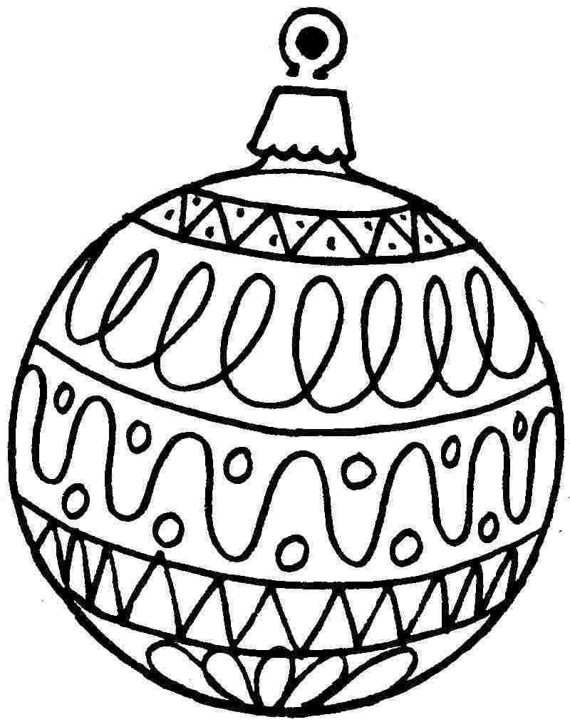 Free Printable Christmas Ornament Coloring Pages | Projects To Try - Free Printable Christmas Ornament Coloring Pages