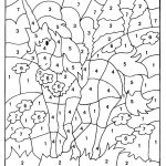 Free Printable Colornumber Coloring Pages   Best Coloring Pages   Free Printable Color By Number For Adults