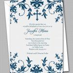 Free Printable Confirmation Invitation Templates | Confirmation   Free Printable Invitation Maker