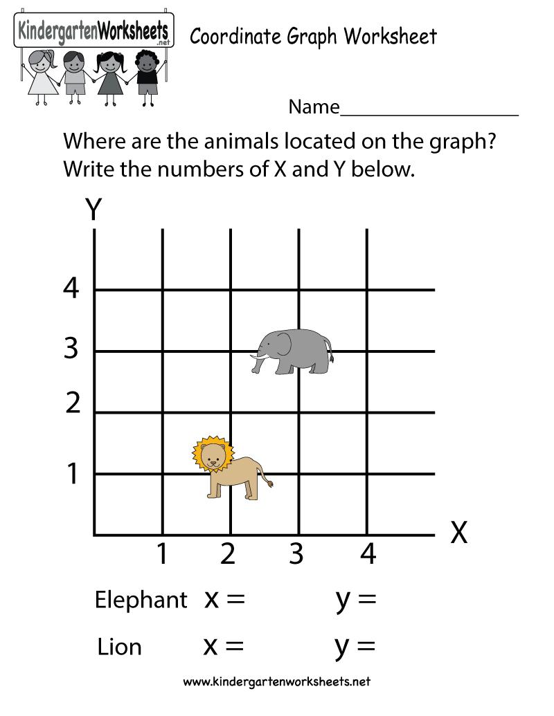 Free Printable Coordinate Graph Worksheet For Kindergarten - Free Printable Coordinate Graphing Pictures Worksheets