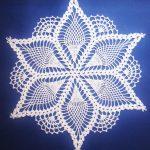 Free Printable Crochet Doily Patterns   Grape Doily Free Vintage   Free Printable Crochet Patterns
