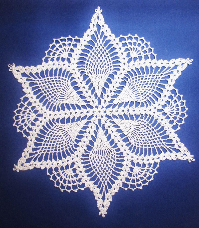 Free Printable Crochet Doily Patterns   Grape Doily Free Vintage - Free Printable Crochet Patterns
