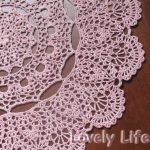 Free Printable Crochet Doily Patterns   Mantilla Doily   Close Up   Free Printable Crochet Patterns