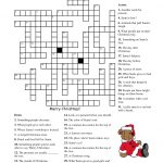 Free Printable Crossword Puzzles | M34 | Free Printable Crossword   Free Printable Christmas Picture Puzzles