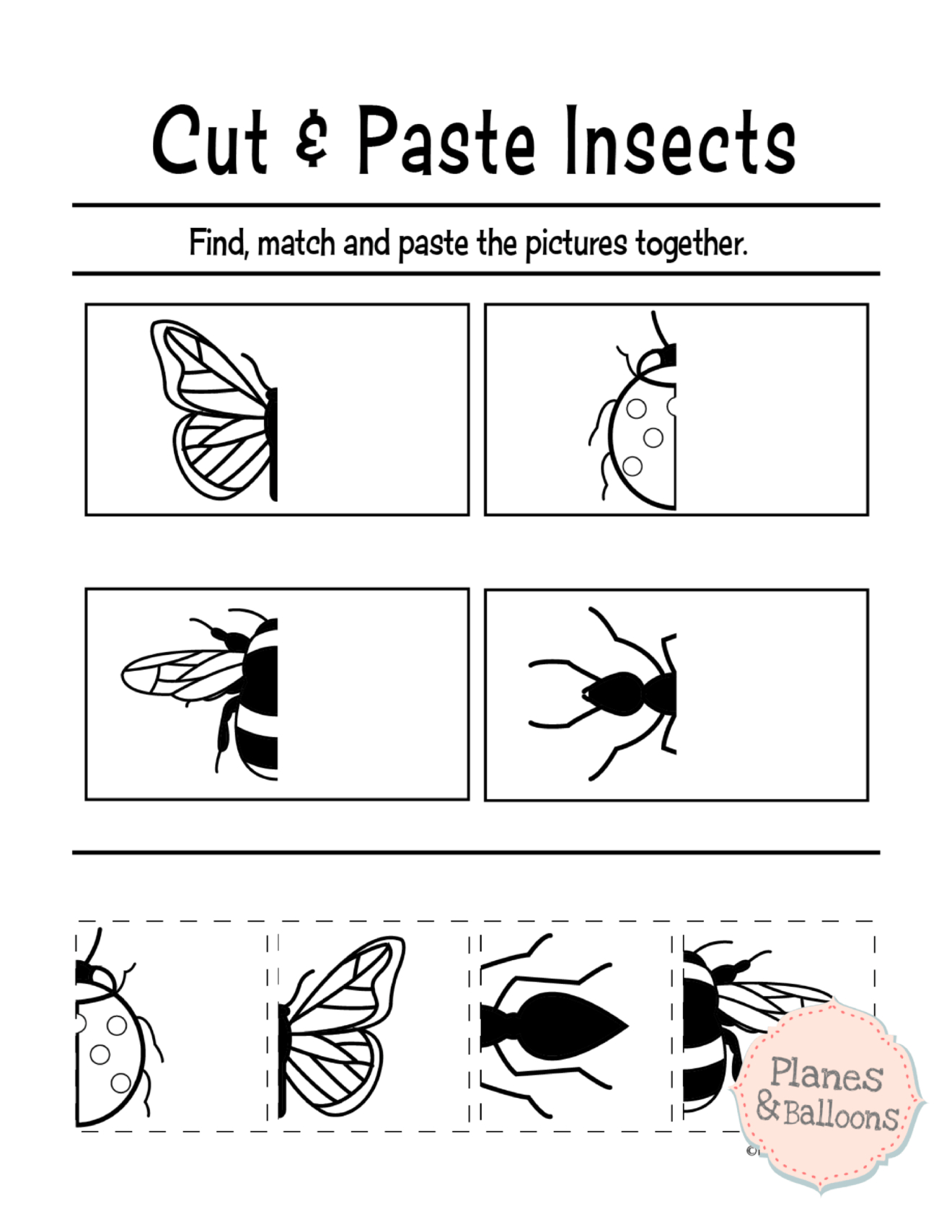 Free Printable Cut And Paste Worksheets For Preschool | Kidstuff - Free Printable Cut And Paste Worksheets For Preschoolers