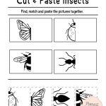 Free Printable Cut And Paste Worksheets For Preschool | Kidstuff   Free Printable Kindergarten Worksheets Cut And Paste