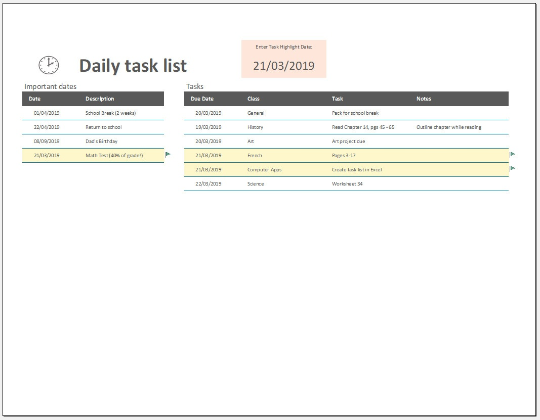 Free Printable Daily To Do List Template #1110 - Free Printable Address Book Software