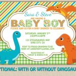 Free Printable Dinosaur Baby Shower Invitation | My Kaden In 2019   Free Printable Dinosaur Baby Shower Invitations