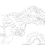 Free Printable Dinosaur Dot To Dots Pdf   Tim's Printables   Dot To Dot Free Printables