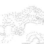 Free Printable Dinosaur Dot To Dots Pdf   Tim's Printables   Free Printable Dot To Dot