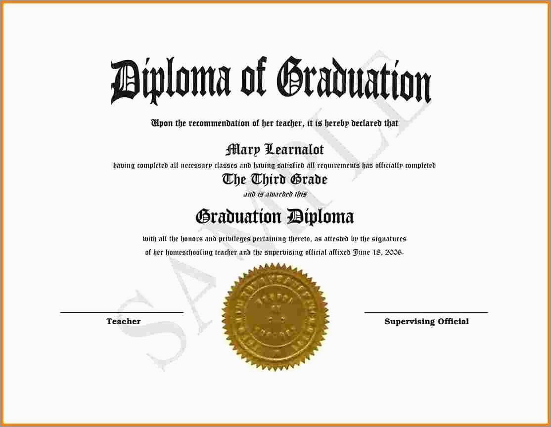 Free Printable Diploma Template Beautiful Awards Certificate - Free Printable Graduation Certificates Templates