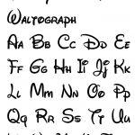 Free Printable Disney Letter Stencils | Disney In 2019 | Disney   Free Printable Calligraphy Letter Stencils