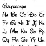 Free Printable Disney Letter Stencils | Disney In 2019 | Disney   Free Printable Disney Alphabet Letters