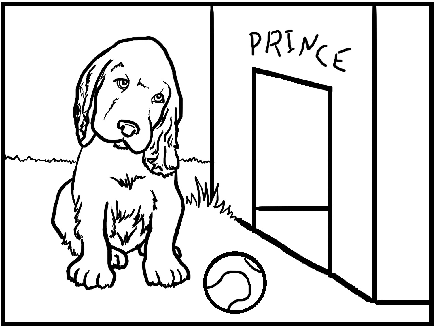 Free Printable Dog Coloring Pages For Kids - Colouring Pages Dogs Free Printable