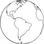Free Printable Earth Coloring Pages For Kids   Free Printable Earth Pictures